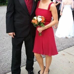 B2 Chiffon Bridesmaids Dress
